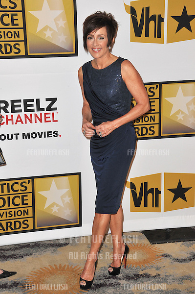 Patricia Heaton at the inaugural Critics' Choice Television Awards, presented by the Broadcast Television Journalists Association, at the Beverly Hills Hotel..June 20, 2011  Beverly Hills, CA.Picture: Paul Smith / Featureflash