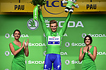 Green Jersey Marcel Kittel (GER) Quick-Step Floors wins his 5th stage, Stage 11 and retains the Green Jersey of the 104th edition of the Tour de France 2017, running 203.5km from Eymet to Pau, France. 12th July 2017.<br /> Picture: ASO/Pauline Ballet | Cyclefile<br /> <br /> <br /> All photos usage must carry mandatory copyright credit (&copy; Cyclefile | ASO/Pauline Ballet)