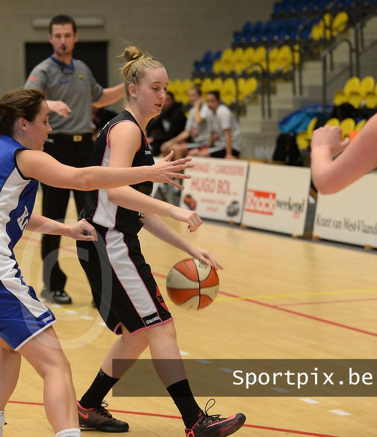 KB Oostende Bredene Dames : Aude Bernaert <br /> foto VDB / Bart Vandenbroucke