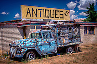 Things Antiques Etc. in Tucumcari, New Mexico on route 66.