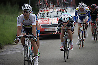 Tom Boonen (BEL/Etixx-QuickStep) tucked in<br /> <br /> Brussels Cycling Classic 2015