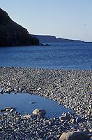 Coastline of Avalon Peninsula, Newfoundland, Canada