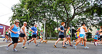 Bring your running shoes for the Tuesday night fun run that leaves from Run With It in downtown Fort Walton Beach...COLIN HACKLEY PHOTO