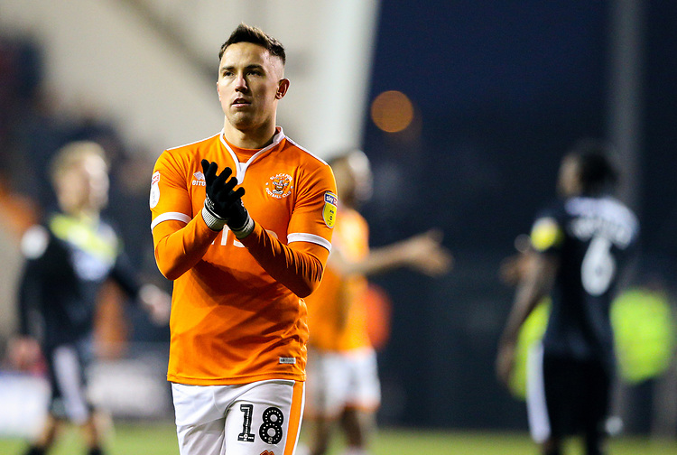Photographer Alex Dodd/CameraSport<br /> <br /> The EFL Sky Bet League One - Blackpool v Shrewsbury Town - Saturday 19 January 2019 - Bloomfield Road - Blackpool<br /> <br /> World Copyright © 2019 CameraSport. All rights reserved. 43 Linden Ave. Countesthorpe. Leicester. England. LE8 5PG - Tel: +44 (0) 116 277 4147 - admin@camerasport.com - www.camerasport.com