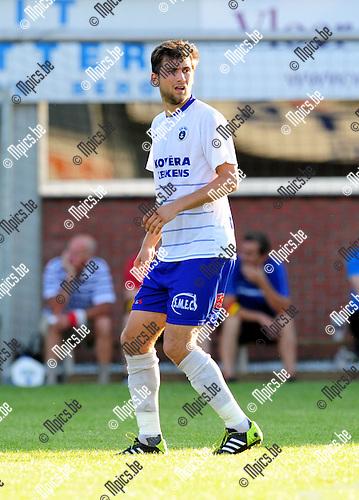 2014-07-23 / Voetbal / seizoen 2014-2015 / KSK Heist / Jeroen Vanderputte<br /><br />Foto: mpics.be