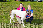 "Enjoying the the Kilflynn Coursing on monday were  Elaine Kennedy and Grace Field with their dog ""Kyle Bruce"" competing in the Stephen Fuller Memorial Cup and Replica"
