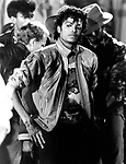 "Michael Jackson 1983 filming 'Beat It"".© Chris Walter."