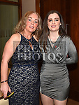 Aoife and Olivia Bennett at the St. Colmcilles gala ball in City North hotel. Photo:Colin Bell/pressphotos.ie