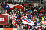 21 November 2010: FC Dallas fans. FC Dallas played the Colorado Rapids at BMO Field in Toronto, Ontario, Canada in MLS Cup 2010, Major League Soccer's championship game.