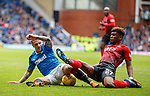 05.05.2018 Rangers v Kilmarnock: Jason Cummings and Aaron Tshibola