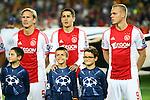 UEFA Champions League 2013/2014.<br /> FC Barcelona vs AFC Ajax: 4-0 - Game: 1.<br /> Poulsen, Bojan &amp; Sigthorsson.