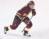 Matt Frank - The Boston College Eagles and Ferris State Bulldogs tied at 3 in the opening game of the Denver Cup on Friday, December 30, 2005, at Magness Arena in Denver, Colorado.  Boston College won the shootout to determine which team would advance to the Final.