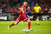 September 12th 2017, Munich, Germany, Champions League football, Bayern Munich versus Anderlecht;   Arjen Robben of Bayern Munchen shooting during the match