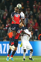 Ngolo Kante of Chelsea and Victor Osimhen of Lille OSC during Lille OSC vs Chelsea, UEFA Champions League Football at Stade Pierre-Mauroy on 2nd October 2019