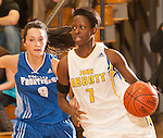 John Abbott College Womens AAA basketball League game versus PreU du College Nouvelles-Frontieres
