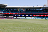 13th March 2020, Sydney Cricket Ground, Sydney, Australia;  General view of an empty ground due to the corona virus. International One Day Cricket, Australia versus New Zealand Blackcaps, Chappell–Hadlee Trophy, Game 1.