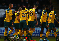 26th December 2019; St Mirren Park, Paisley, Renfrewshire, Scotland; Scottish Premiership Football, St Mirren versus Celtic; Callum McGregor of Celtic celebrates  with his team mates after making it 1-0 to Celtic in the 22nd minute - Editorial Use