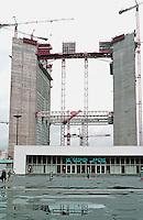 Paris: La Defense--looking west. Photo '87.