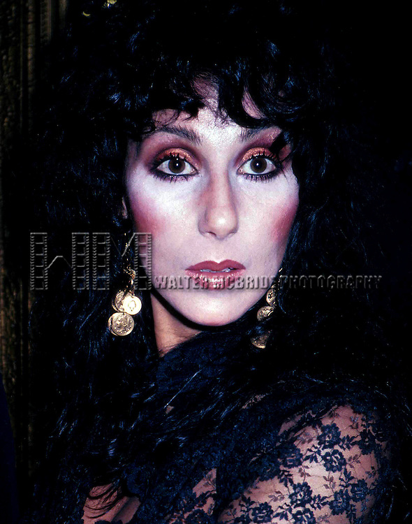 CHER   FEB. 1982.STUDIO 54, NYC..© Walter McBride/WM Photography