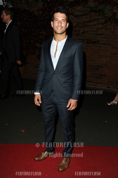 Danny Mac arrives for the 2011 Hollyoaks Ball at Chester Racecourse, Chester. 01/09/2011 Picture by: Steve Vas / Featureflash
