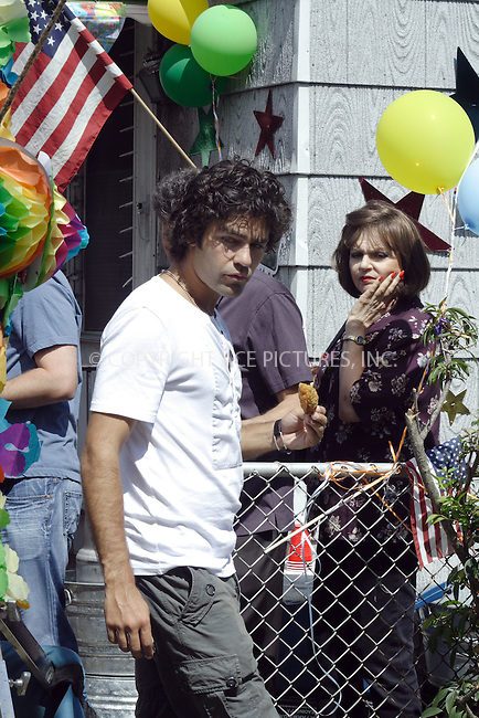 WWW.ACEPIXS.COM . . . . .  ....August 26, 2008. Maspeth, NY....Actor Adrian Grenier films a scene from the TV show 'Entourage' on August 26, 2008 in Maspeth, NY.......Please byline: Joanne Juele - ACEPIXS.COM.... *** ***..Ace Pictures, Inc:  ..Philip Vaughan (646) 769 0430..e-mail: info@acepixs.com..web: http://www.acepixs.com