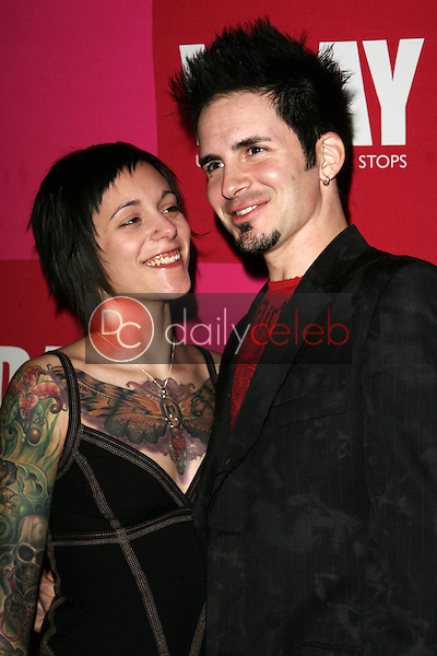 Samantha Humphrey and Hal Sparks<br />