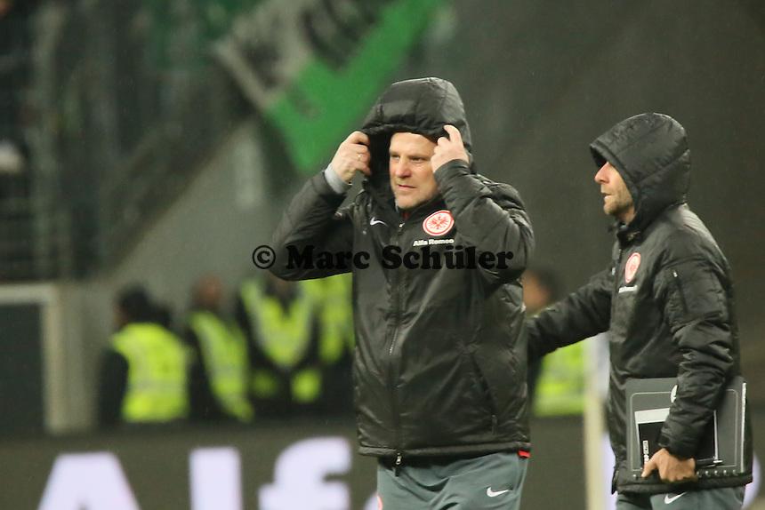 Trainer Thomas Schaaf (Eintracht) - Eintracht Frankfurt vs. SV Werder Bremen, Commerzbank Arena