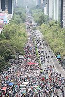 Marcha del #DiadelaIndignacion a un año de Ayotzinapa