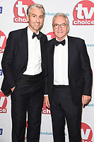 George and Larry Lamb<br /> arriving for the TV Choice Awards 2017 at The Dorchester Hotel, London. <br /> <br /> <br /> ©Ash Knotek  D3303  04/09/2017