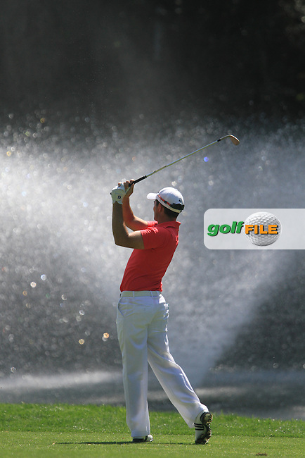 Gareth Maybin (NIR) on the 2nd on Day 3 of the 2012 Open de Andalucia Costa del Sol at Aloha Golf Club, Marbella, Spain....(Photo Jenny Matthews/www.golffile.ie)