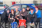 Students undertaking the Leaving Cert Applied curriculum at Killarney Community College took time out last week to hold a car wash to help raise funds for Talbot Grove Addiction Centre in Castleisland. .Front L-R Agata Rudnicka, Paul Brosna and Dylan Donnelly. .Back L-R Jonathan Harig, Jan Pastuszka, Lee Collier and Niamh Counihan.