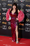Loles Leon attends to 33rd Goya Awards at Fibes - Conference and Exhibition  in Seville, Spain. February 02, 2019. (ALTERPHOTOS/A. Perez Meca)