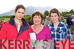 Shauna, Bridie and Cyrilla Larkin Tralee enjoying the Killarney Races on Tuesday