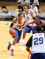 Jarrell Eddie handles the ball during the 2009 NBPA Top 100 Basketball Camp held Friday June 17- 20, 2009 in Charlottesville, VA. Photo/ Andrew Shurtleff.