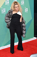 Tallia Storm at 'Portrait of a Lady on Fire' premiere, an 18th century drama about a female painter who falls in love with her subject, at Embankment Gardens Cinema, London, England on October 08, 2019.<br /> CAP/JOR<br /> ©JOR/Capital Pictures