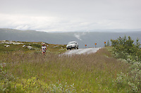 Race number 40 - Davide Ballabio - - Norseman 2012 - Photo by Justin Mckie Justinmckie@hotmail.com