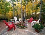 Outdoor Porch, Eastern Sierra, California