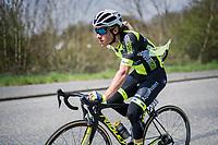 Justin Jules (FRA/WB Veranclassic Aqua Protect)<br /> <br /> 57th Brabantse Pijl - La Fl&egrave;che Braban&ccedil;onne (1.HC)<br /> 1 Day Race: Leuven &rsaquo; Overijse (197km)