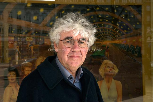 Geert Mak attending book festival Passa Porta.