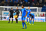 01.12.2018, wirsol Rhein-Neckar-Arena, Sinsheim, GER, 1 FBL, TSG 1899 Hoffenheim vs FC Schalke 04, <br /> <br /> DFL REGULATIONS PROHIBIT ANY USE OF PHOTOGRAPHS AS IMAGE SEQUENCES AND/OR QUASI-VIDEO.<br /> <br /> im Bild: Frust bei Reiss Nelson (TSG Hoffenheim #9)<br /> <br /> Foto &copy; nordphoto / Fabisch