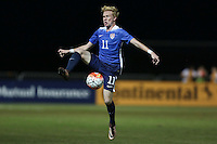 LAKEWOOD RANCH, Florida – Wednesday, December 2, 2015: The U.S. Men's National team U-17s fall 3-2 to the England U-17 Men's National team to open up the 2015 Nike International Friendlies at Premier Sports Campus.