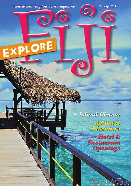 """Featured article about our recent book """"Fiji Islands-The Heart of the South Pacific"""" appeared in Fiji Explore Feb to Apr 14 edition."""