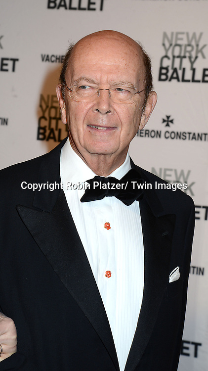 Wilbur Ross attends the New York City Ballet Spring 2014 Gala on May 8, 2014 at David Koch Theatre in Lincoln Center in New York City, NY, USA.