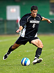 31 October 2007: The University of Binghamton Bearcats' Barry Neville, a Junior from Glasgow, Scotland, in action against the University of Vermont Catamounts at Historic Centennial Field in Burlington, Vermont. The Catamounts shut out the visiting Bearcats 2-0...Mandatory Photo Credit: Ed Wolfstein Photo
