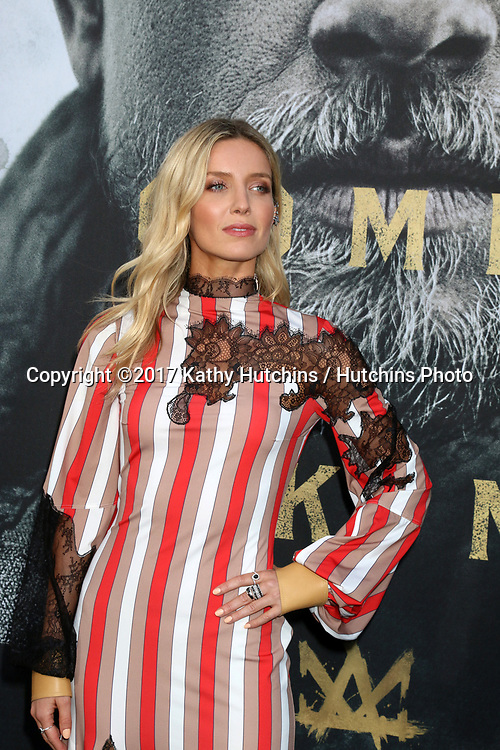 "LOS ANGELES - MAY 8:  Annabelle Wallis at the ""King Arthur Legend of the Sword"" World Premiere on the TCL Chinese Theater IMAX on May 8, 2017 in Los Angeles, CA"