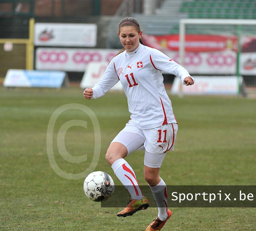 Belgium U19 - Switzerland U19 : Barla Deplazes.foto DAVID CATRY / Nikonpro.be