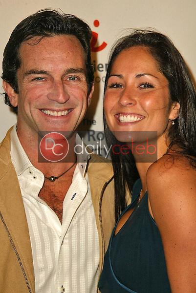 Jeff Probst and Julie Barrett<br /> at the 2005 Annual Lint Roller Party by Best Friends Animal Society, Hollywood Roosevelt Hotel, Hollywood, CA 05-06-05<br /> David Edwards/DailyCeleb.Com 818-249-4998