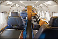 BNPS.co.uk (01202 558833)<br /> Pic: CrownCopyright/AirHistoricalBranch<br /> <br /> Interior of the Queens Flight HS125<br /> <br /> A new book gives an intimate look behind the scenes of the Royal Flight and also the flying Royals.<br /> <br /> Starting in 1917 the book charts in pictures the 100 year evolution of first the King's Flight and then later the Queen's Flight as well as the Royal families passion for aviation.<br /> <br /> Author Keith Wilson has had unprecedented access to the Queen's Flight Archives to provide a fascinating insight into both Royal and aeronautical history.