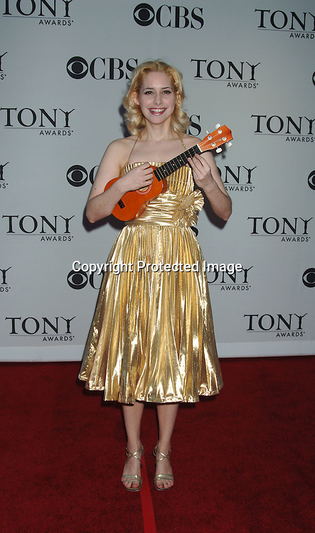 Nellie McKay..arriving at the 60th Annual Tony Awards on June11, 2006..at Radio City Music Hall. ..Robin Platzer, Twin Images