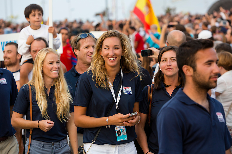 20140911, Santander, Spain: 2014 ISAF SAILING WORLD CHAMPIONSHIPS - More than 1,250 sailors in over 900 boats from 84 nations will compete at the Santander 2014 ISAF Sailing World Championships from 8-21 September 2014. The best sailing talent will be on show and as well as world titles being awarded across ten events 50% of Rio 2016 Olympic Sailing Competition places will be won based on results in Santander.. Photo: Mick Anderson/SAILINGPIX.DK. Keywords: Sailing, water, sport, ocean, boats, olympic, dinghy, dinghies, crew, team, sail. Filename: _49A1060.CR2.